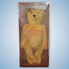 Wonderful Steiff Teddy Bear Jointed 0153/43 in Original Box