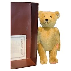 Steiff Teddy Bear In Original Box 0153/43 W/ Paper