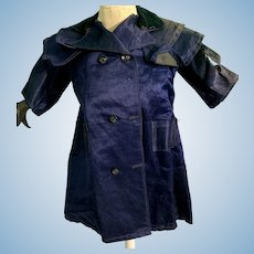 Old Wonderful Silk Doll Jacket Coat