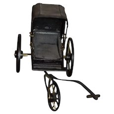 Wonderful Doll Artist Buggy Carriage Miniature Wood Metal Dollhouse