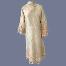 Wonderful Lace Trim Doll Dress Gown Fancy