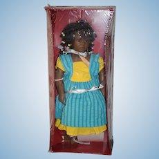 Annette Himsteadt Black Doll Ayoka In Original Box