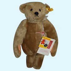 Sweet Steiff Teddy Bear Jointed Mohair Button Tag String Tag 0155/32