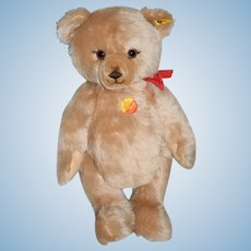 Sweet Steiff Teddy Bear Unusual Face Jointed Button Tag and String Tags EAN 0237/45