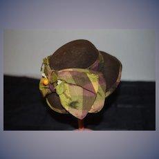 Wonderful Doll Hat by Lillian Hope Artist Made Fab Bonnet Fancy