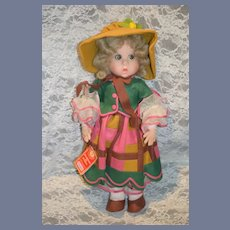 Vintage Lenci Cloth Doll Original Tag Sweet
