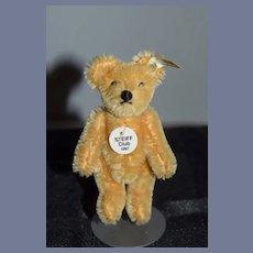 Vintage Steiff Teddy Bear Mohair Jointed Steiff Club Bear 1997 Miniature