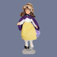 Vintage Cottage Doll English Original Clothes Cloth Doll