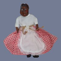 Wonderful Artist Black Doll Character Doll Signed Gorgeous Sculpted