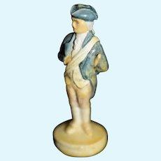 Vintage Miniature George Washington Statue Dollhouse Doll