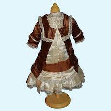 Sweet Doll Dress Drop Waist W/ Faux Jacket French Market