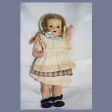 Old Kammer & Reinhardt Celluloid Doll Original Clothes Sweet 728