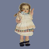 Old Kammer & Reinhardt Celluloid Doll Original Clothes Sweet 728
