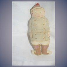 Old Palmer Cox Brownie Cloth Doll Rag Doll Sweet Signed