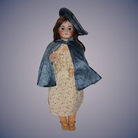"Antique Doll French Cherie Limoges All Dressed 26 1/2"" Tall"