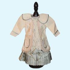 Wonderful Doll Dress Artist Made French Market