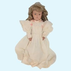Antique Doll Schoenhut Wood Carved Jointed Miss Dolly Gorgeous