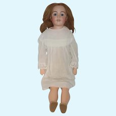 """Antique French Bisque Doll Francaise Favorite No. 11 Depose 30"""" Tall Gorgeous JE Masson"""