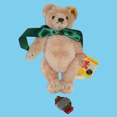 Vintage Steiff Teddy Bear Signed W/ String Tags and Button Tag 65026 Mohair W/ Steiff Event Bear Medal