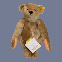 Vintage Steiff Teddy Bear Jointed Crier Button Tag String Tag Margaret Woodbury 0155/32