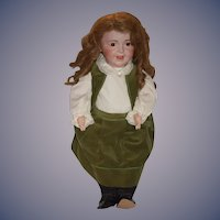 "Antique French Doll Laughing Jumeau SFBJ 936 Toddler Body SWEET! 27"" Tall"