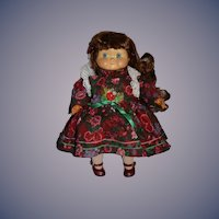 Vintage Goebel Wood Dolly Dingle Doll Limited Edition