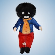 Vintage Doll Golliwog MerryThought W/ Original Tag Limited Edition Our First Golly Cloth Doll