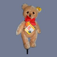 Vintage Steiff Teddy Bear Jointed Mohair Button Tag Chest Tag 0237/28