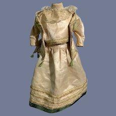 Old Doll Dress Three Piece Set Top Jacket Skirt