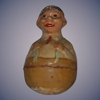 Antique Doll Roly Poly Papier Mache Schoenhut Doll Character