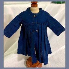Sweet Old Doll Dress High Waist Pleats