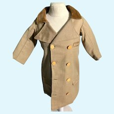 Old Doll Riding Coat Jacket Double Breasted Charming
