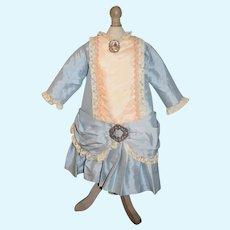 Artist Doll Dress Drop Waist Fancy Brooch French Market