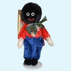Vintage MerryThought Golliwog Cloth Doll W/ Tags Ollie Gollie