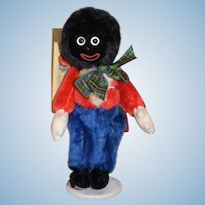 Vintage MerryThought Golliwog Cloth Doll W/ Tags Ollie Gollie