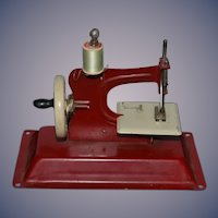 Old Miniature Gateway Sewing Machine Child Doll's