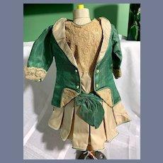 Wonderful Doll Dress Two Piece Dress and Fancy Jacket