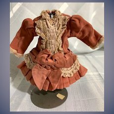 Sweet Doll Dress Drop Waist Lace Trim for Petite Doll