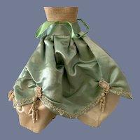 Wonderful Old Doll Skirt Fashion Doll Fancy Tassels Bead Work