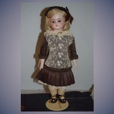 Antique Doll Beautiful Turned Head Kestner Bisque Doll Gorgeous
