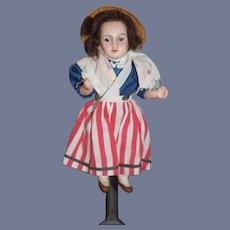 Antique French Doll Bisque Miniature Dollhouse Unis