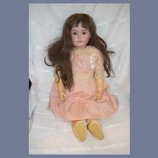 "Antique Doll Bisque Head 171  Gorgeous 31"" Tall Kestner Letter ""M"""
