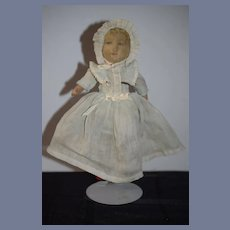Wonderful Antique Cloth Doll Bruckner Topsy Turvy Mask Face Doll Black Doll White Doll Ribbon Winner