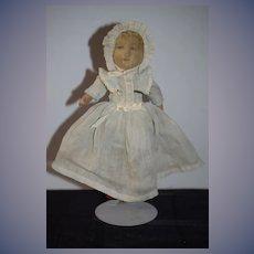 Wonderful Antique Cloth Doll Bruckner Topsy Turvy Mask Face Doll Black Doll White Doll Ribbon Winner
