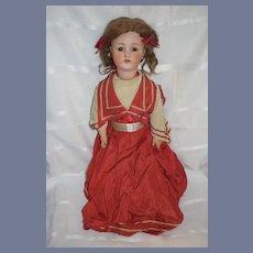 "Antique Bisque Doll Heubach Koppelsdorf Fab Doll Clothes 24"" Tall 250"