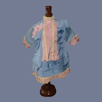 Wonderful Doll Dress Hand Made French Market
