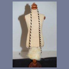 Wonderful Old Fashion Doll Miniature Fur Muff