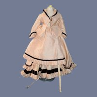 Wonderful Hand Made Three Piece Skirt Jacket Train Fashion Doll