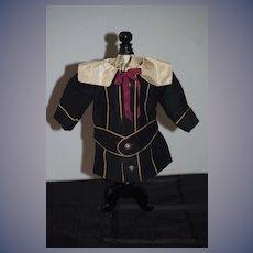 Wonderful Old Doll Jacket/ Dress Sailor Collar