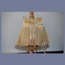 Wonderful Old Shirley Temple Doll Dress W/ Undergarments